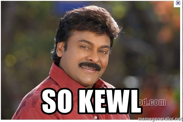 Typical Indian guy - so kewl