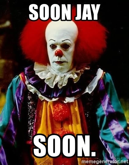 it clown stephen king - SOON JAY SOON.