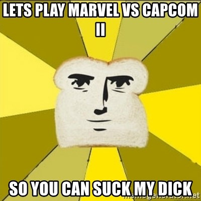 Lets Play Marvel Vs Capcom Ii So You Can Suck My Dick