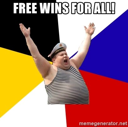 Patriot - free wins for all!