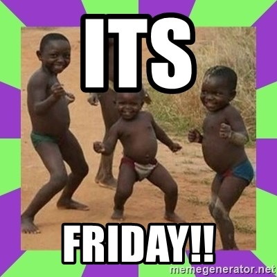 african kids dancing - its friday!!