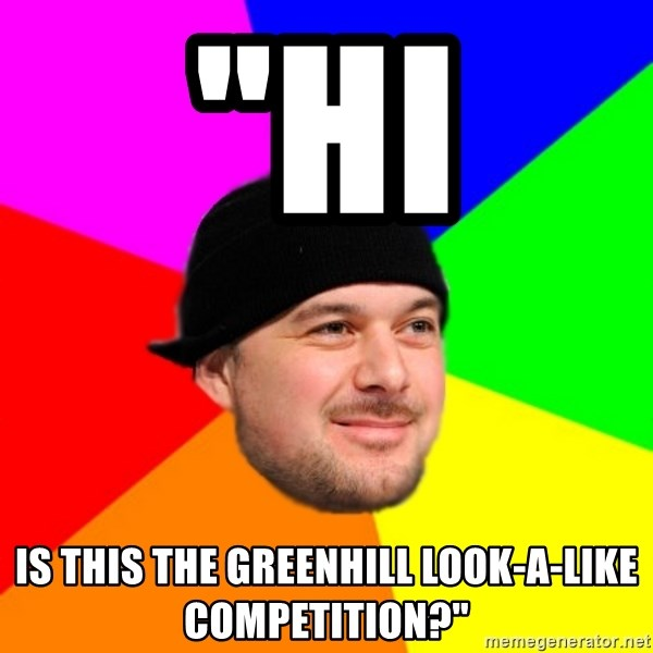"""King Kool Savas - """"HI IS THIS THE GREENHILL LOOK-A-LIKE COMPETITION?"""""""