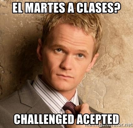 BARNEYxSTINSON - EL MARTES A CLASES? CHALLENGED ACEPTED