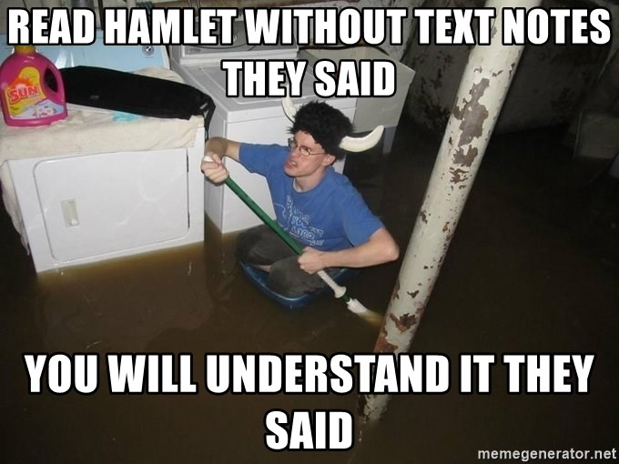 Read Hamlet Without Text Notes They Said You Will Understand It