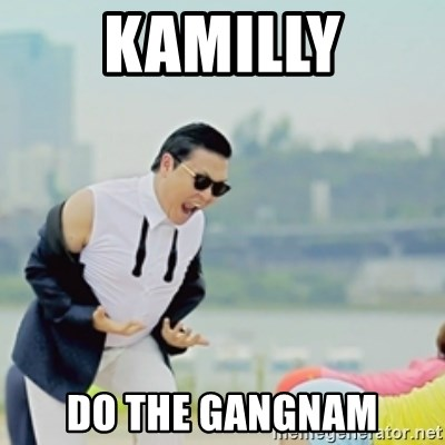 Gangnam Style - KamiLly Do the gangnam