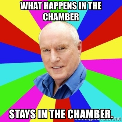 Alf Stewart - What happens in the chamber Stays In the chamber.