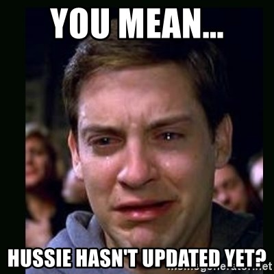crying peter parker - You mean... Hussie hasn't updated yet?