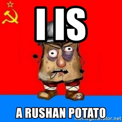 Malorashka-Soviet - I is a rushan potato