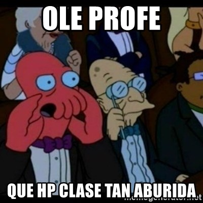 You should Feel Bad - ole profe que hp clase tan aburida