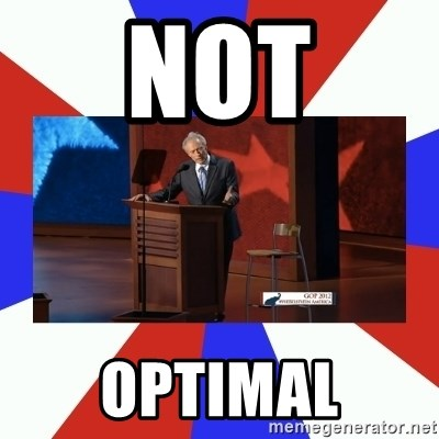 Invisible Obama - NOT OPTIMAL