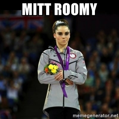 Unimpressed McKayla Maroney - Mitt roomy