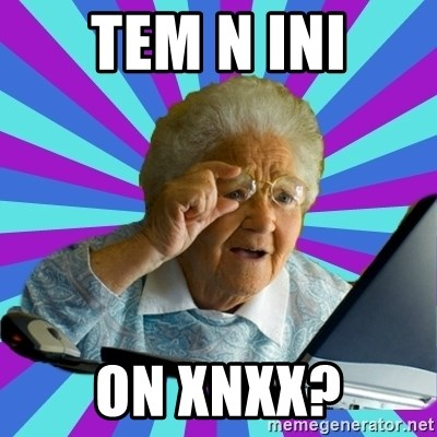 old lady - TEM N INI ON XNXX?