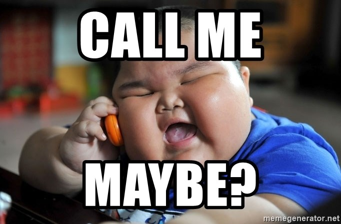 Fat Asian Kid - call me maybe?