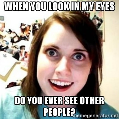 OAG - When you look in my eyes Do you ever see other people?