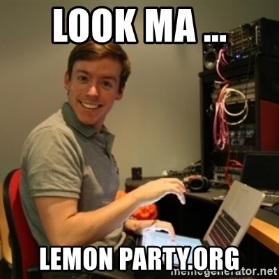 Ridiculously Photogenic Journalist - LOOK MA ... LEMON PARTY.ORG