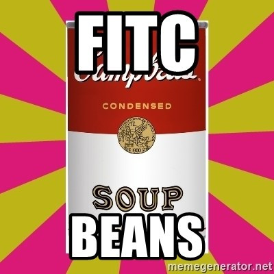 College Campbells Soup Can - FITc BEANS