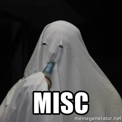 Poverty Ghost - misc