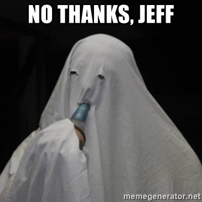 Poverty Ghost - no thanks, jeff