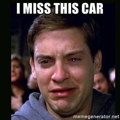 crying peter parker - I MISS THIS CAR