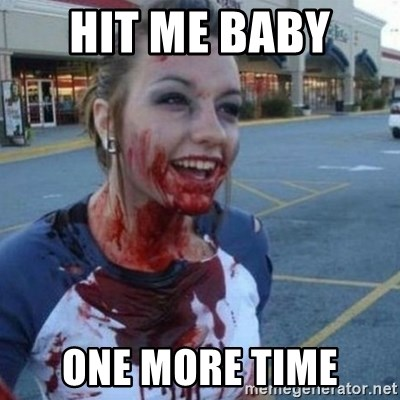 Scary Nympho - Hit me baby  one more time