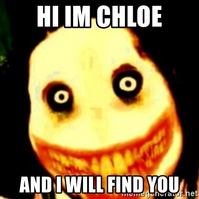 Tipical dream - hi im chloe and i will find you