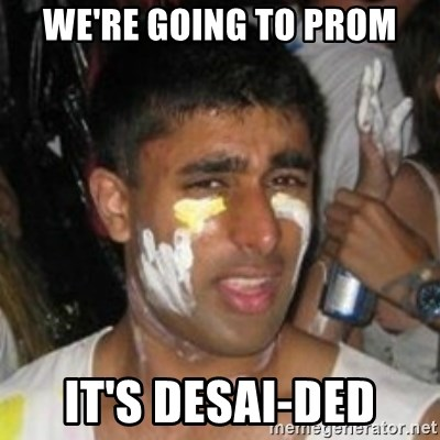 Krazy Kapil - We're going to prom It's desai-ded
