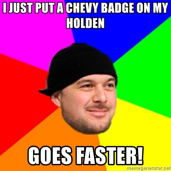 King Kool Savas - I JUST PUT A CHEVY BADGE ON MY HOLDEN GOES FASTER!