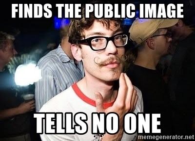 Super Smart Hipster - finds The Public Image tells no one