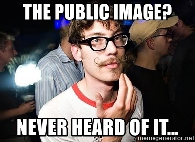 Super Smart Hipster - THe public image? never heard of it...