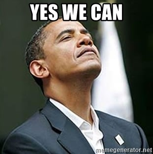 Pretentious Obama - YES WE CAN