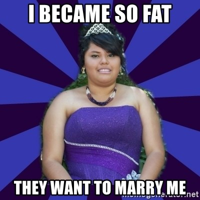 Colibritany xD - I BECAME SO FAT tHEY WANT TO MARRY ME