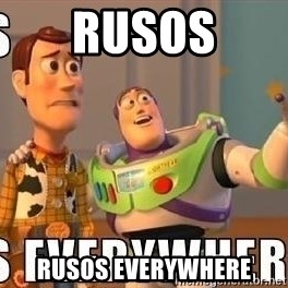 Xx Everywhere - Rusos RuSos everywhere