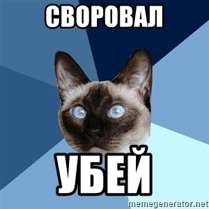 Chronic Illness Cat - СВОРОВАЛ УБЕЙ