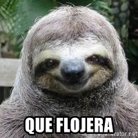 Sexual Sloth - que flojera