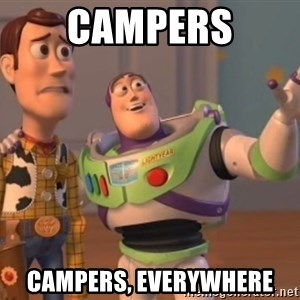 ToyStorys - Campers Campers, everywhere