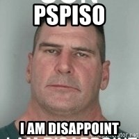 son i am disappoint - PSPISO I AM DISAPPOINT