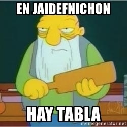 Jasper Beardly - en jaidefnichon hay tabla
