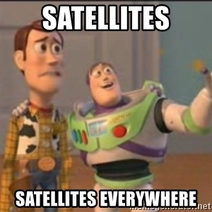 Buzz - Satellites Satellites everywhere