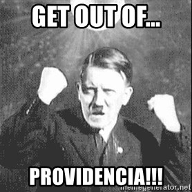 Disco Hitler - get out of... PROVIDENCIA!!!
