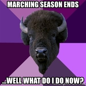 Fuck Yeah Band Buffalo - marching season ends ...well what do i do now?