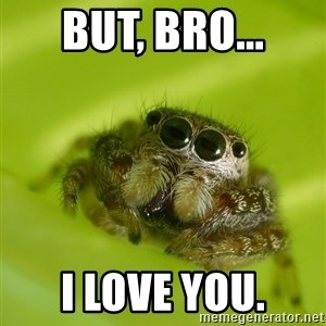 The Spider Bro - But, bro... I love you.
