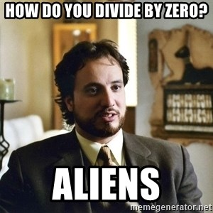Giorgio Tsoukalos - how do you divide by zero? aliens