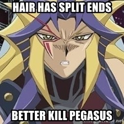 Kill Pegasus Paradox - Hair has split ends Better kill pegasus