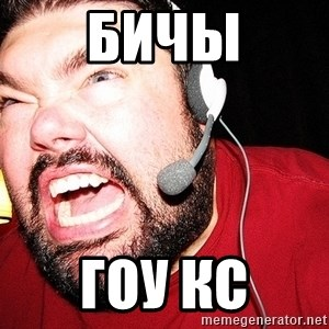 Angry Gamer - бичы гоу кс