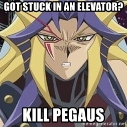 Kill Pegasus Paradox - Got stuck in an elevator? Kill Pegaus