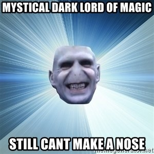 Awkward Wizard - mystical dark lord of magic still cant make a nose