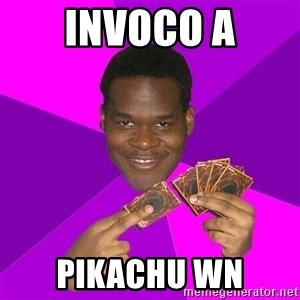 Cunning Black Strategist - invoco a pikachu wn