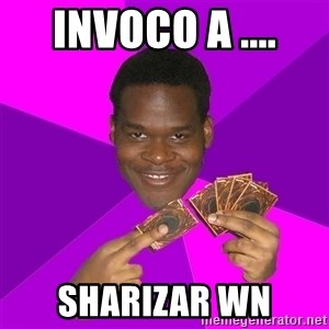 Cunning Black Strategist - invoco a .... sharizar wn