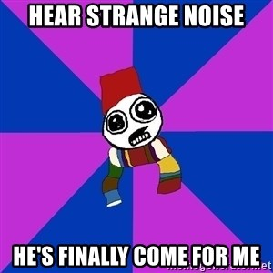 Doctor Who Addict - Hear strange noise he's finally come for me