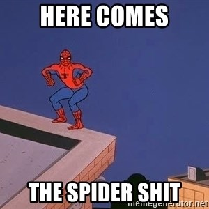 Spiderman12345 - Here comes the spider shit